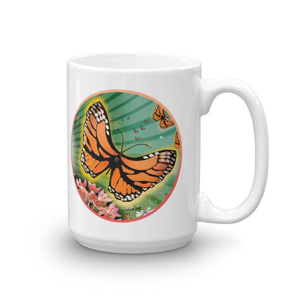 Mug, Summer Monarch