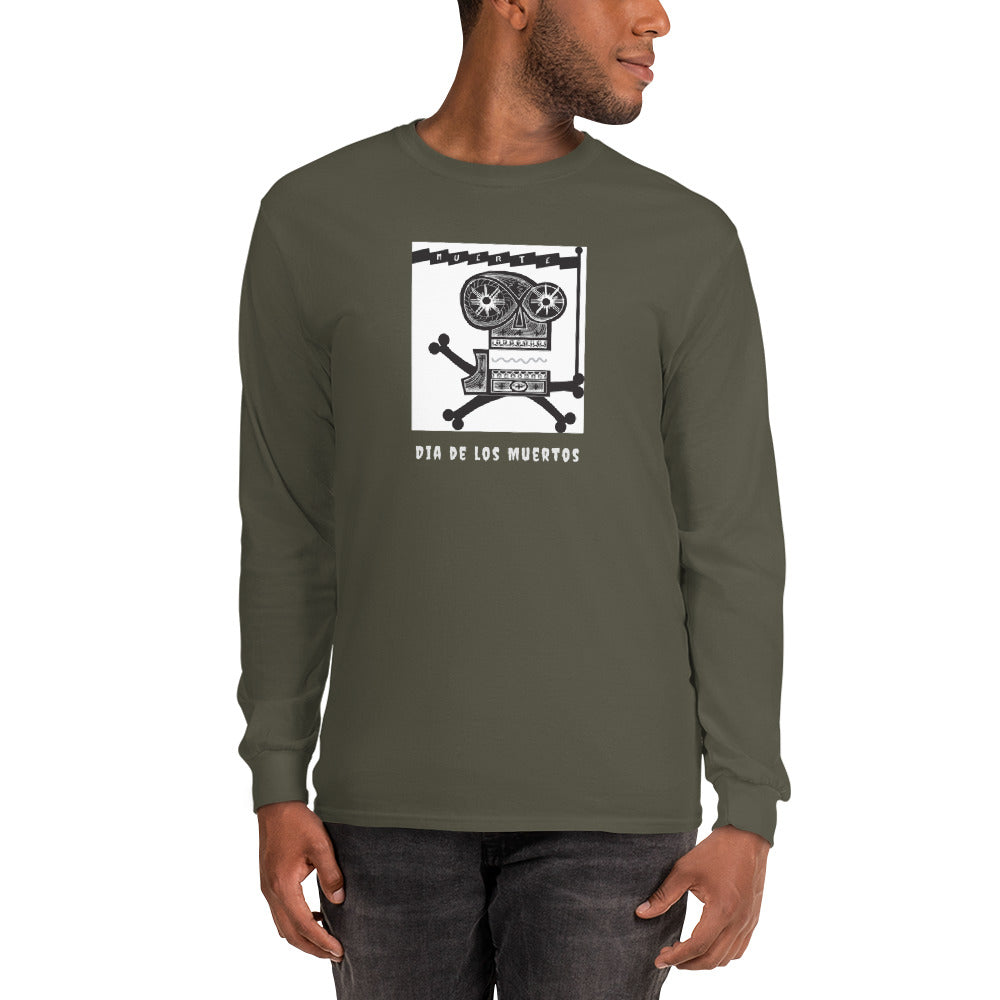 Men's unisex Long Sleeve Shirt, Dia de los Muertos