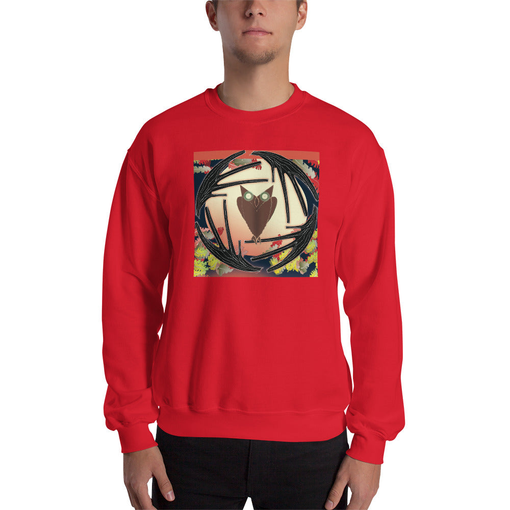 Sweatshirt, Autumn Owl