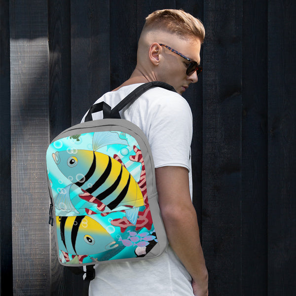 Backpack, Coral Reef Fish