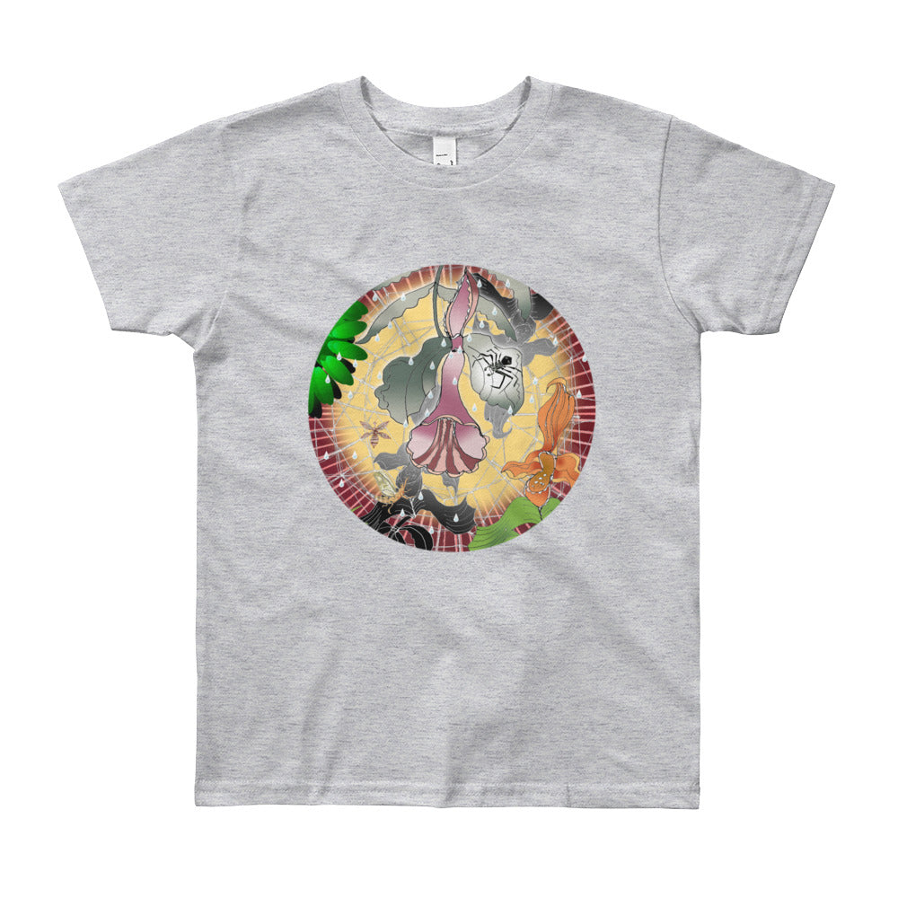 Youth Short Sleeve T-Shirt, Summer Spider