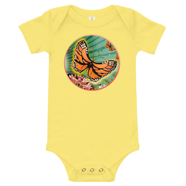 Body shirt infant, Summer Monarch