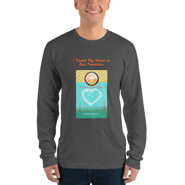 Long sleeve t-shirt, The Heart of San Francisco 2019