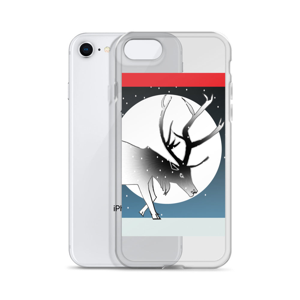 iPhone Case, Winter Stag