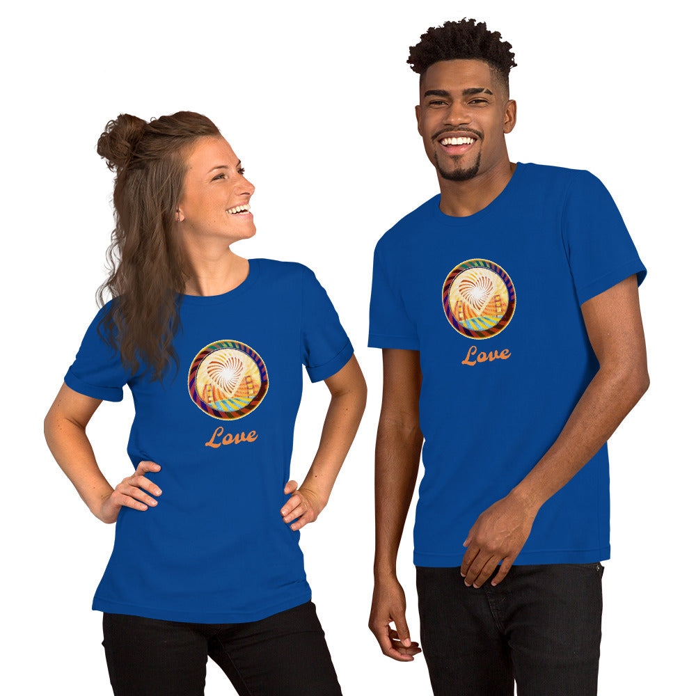 Short-Sleeve Unisex T-Shirt, The Heart of San Francisco