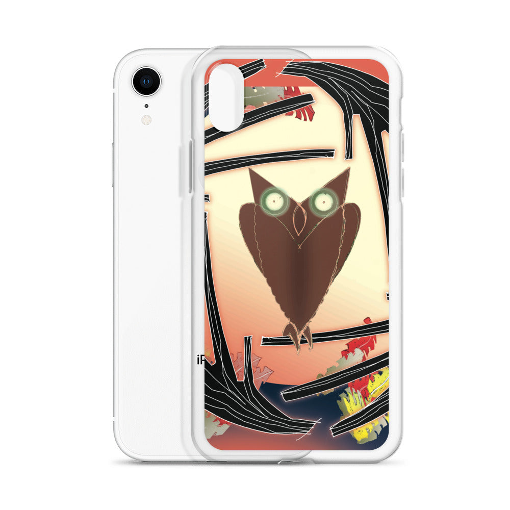 iPhone Case, Fall Owl