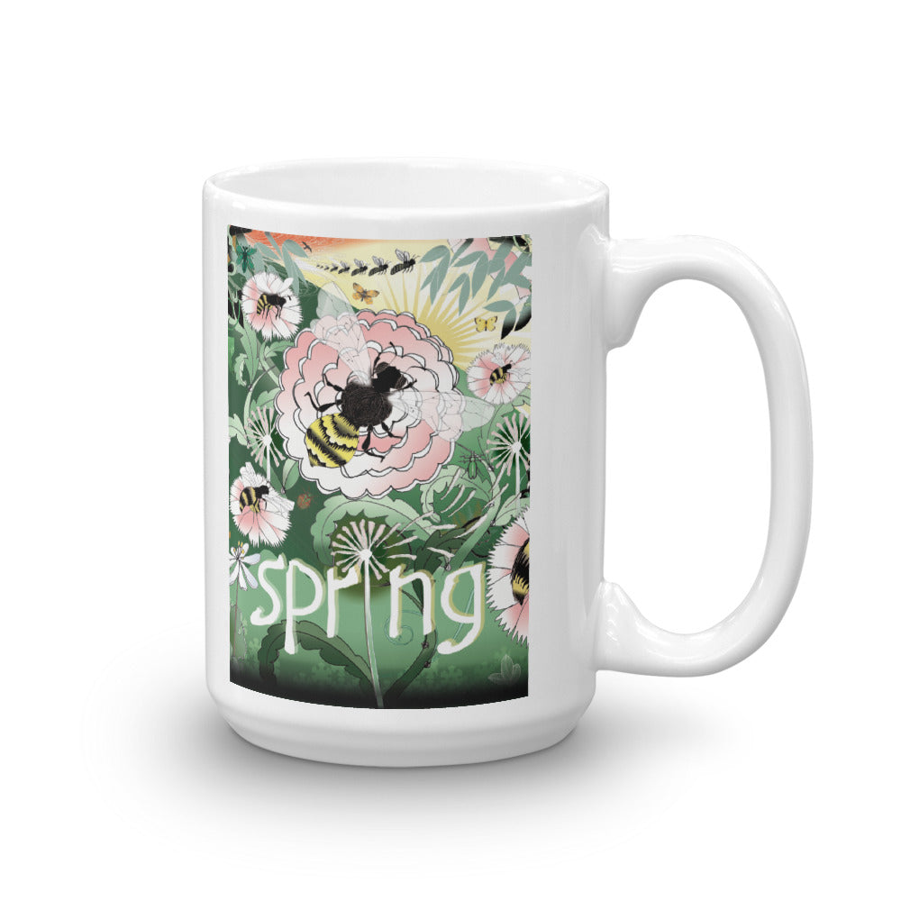 Mug, Spring Bee Gift Set or Individual Mug Sale!