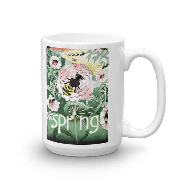 Mug, Spring Bee, Gift Set or Individual Mug Sale!