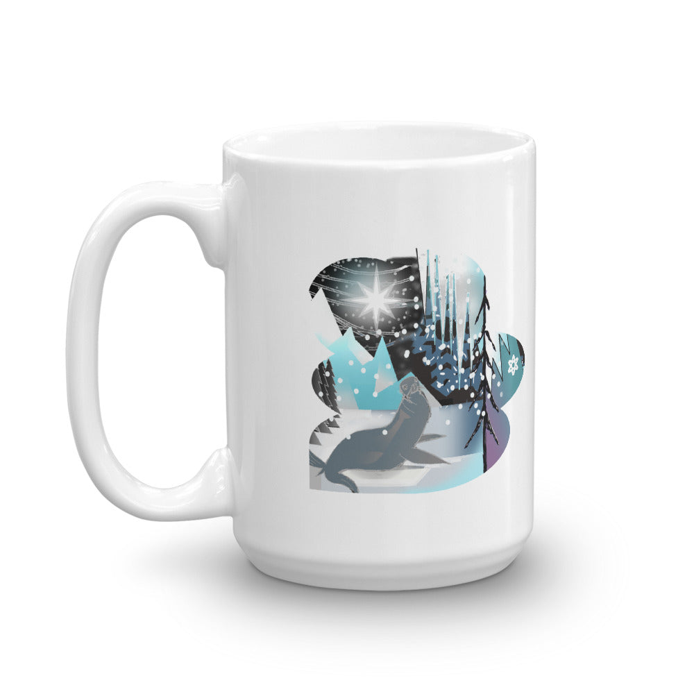Mug, Winter Seal