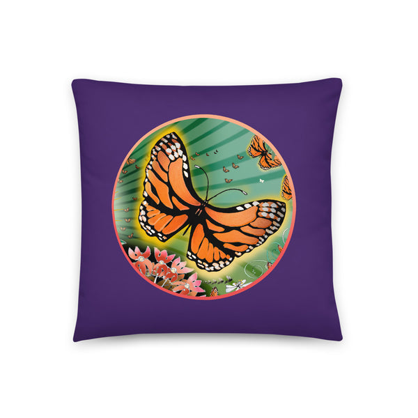Basic Pillow, Summer Monarch