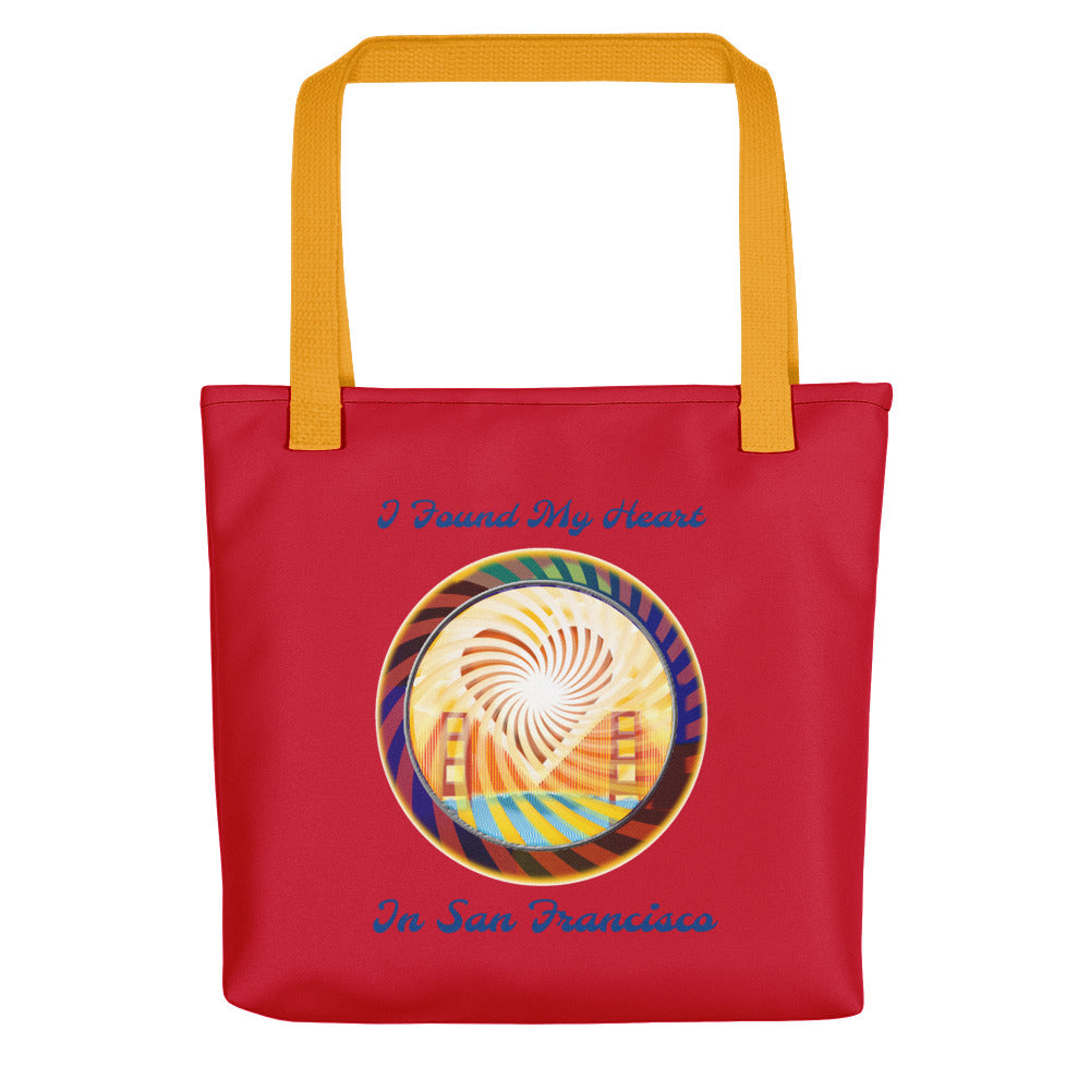 Tote bag, The Heart of San Francisco