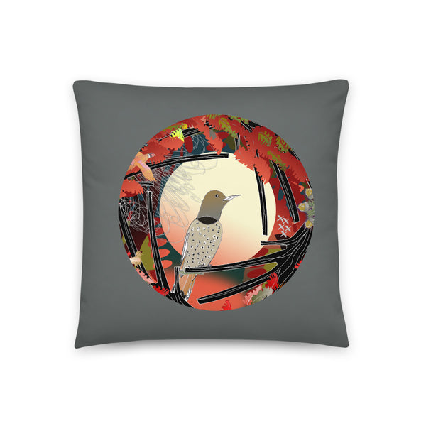 Basic Pillow, Fall Northern Flicker