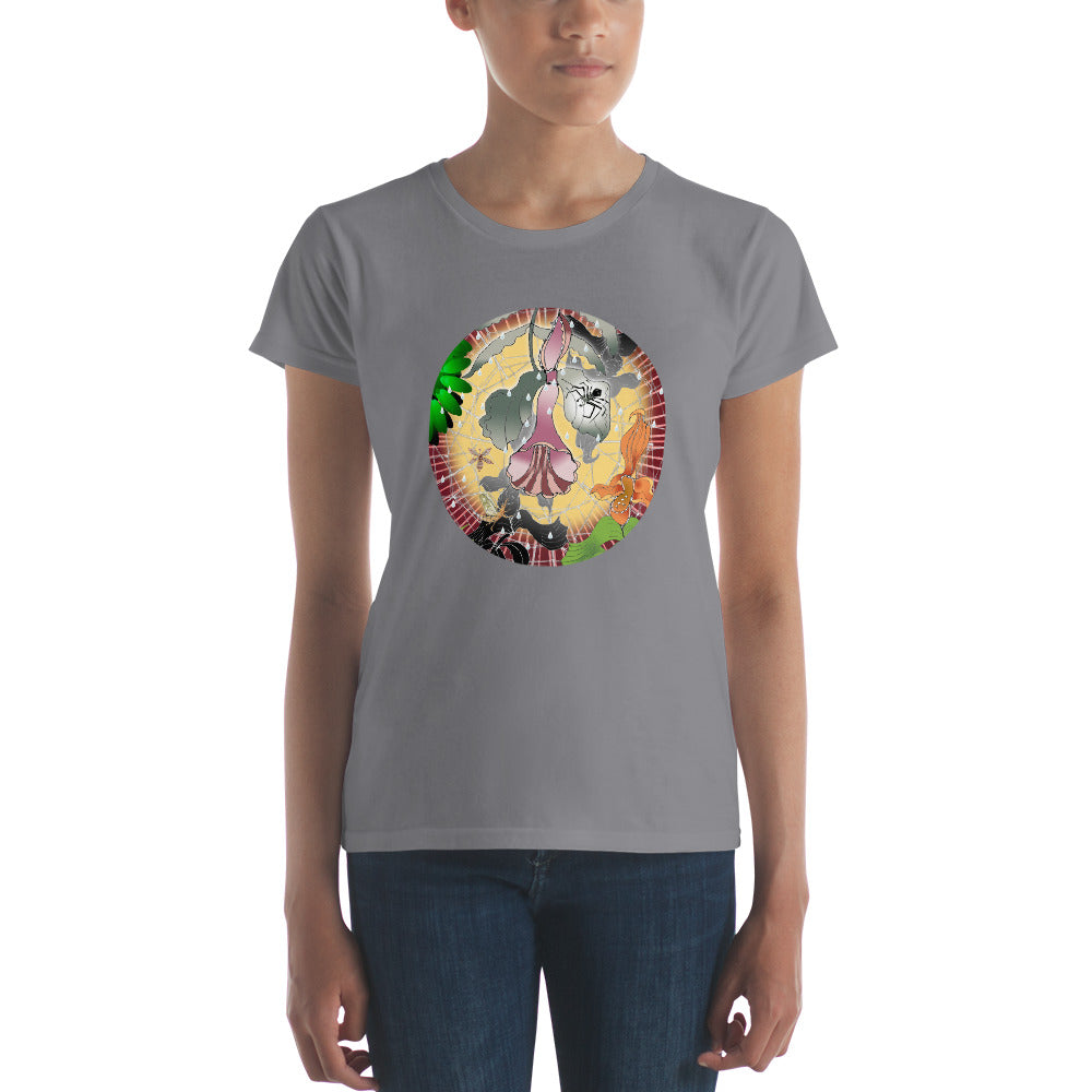 Women's short sleeve t-shirt, Summer Spider