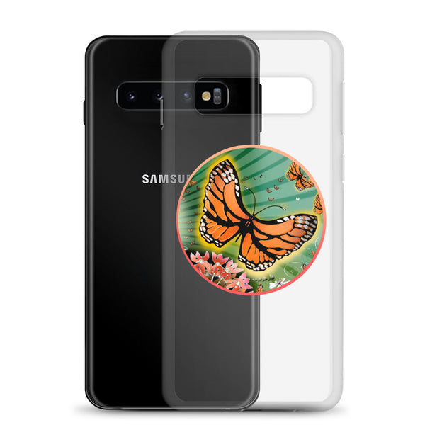 Samsung Case, Summer Monarch