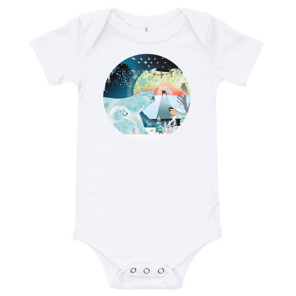Baby Body Tees, Winter Polar Bears