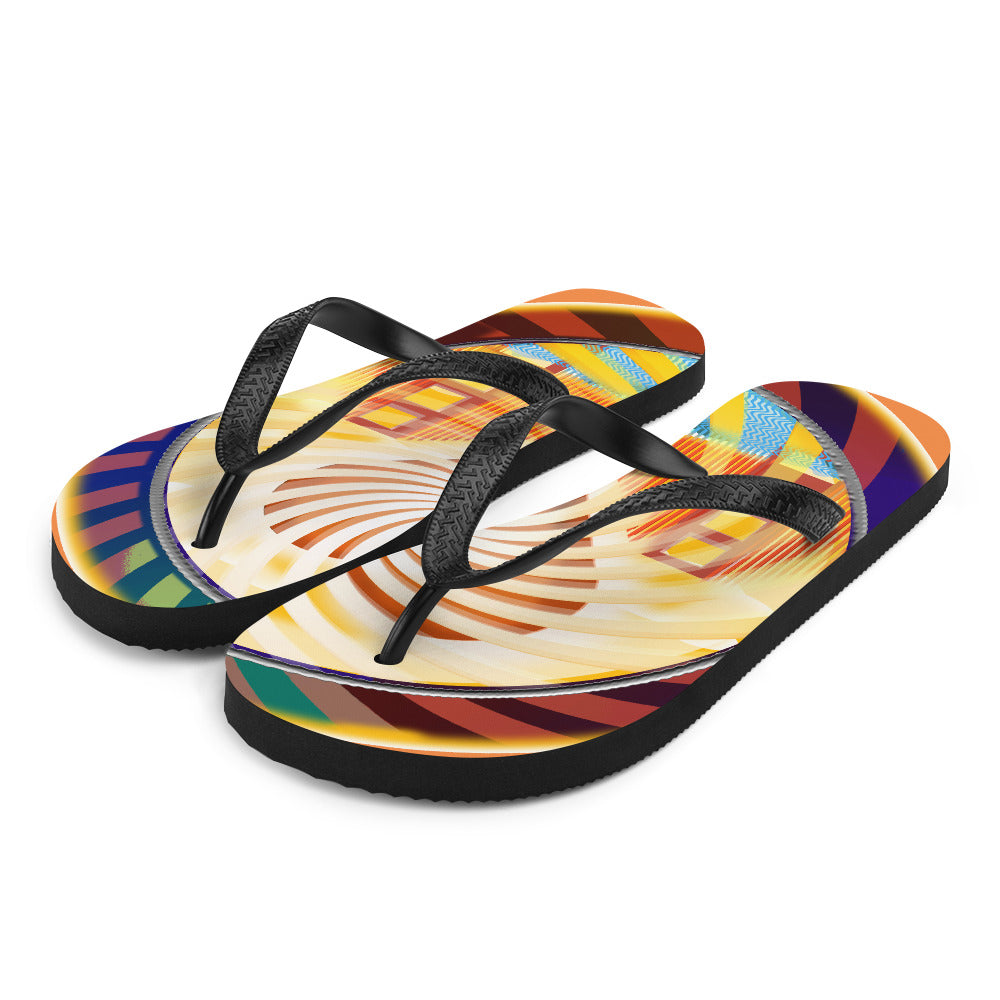 Flip-Flops, Beach Fun Heart