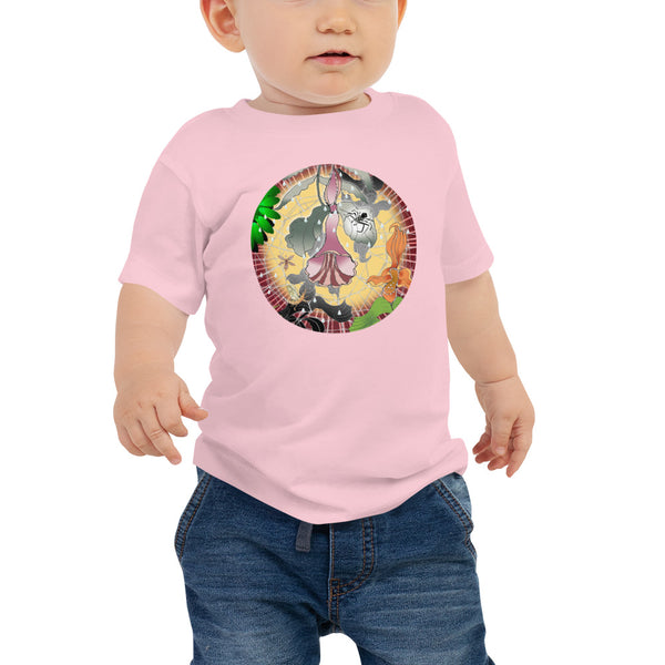 Baby Jersey Short Sleeve Tee, Summer spider