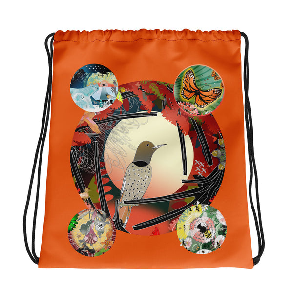 Drawstring bag, Decima's Design All Seasons