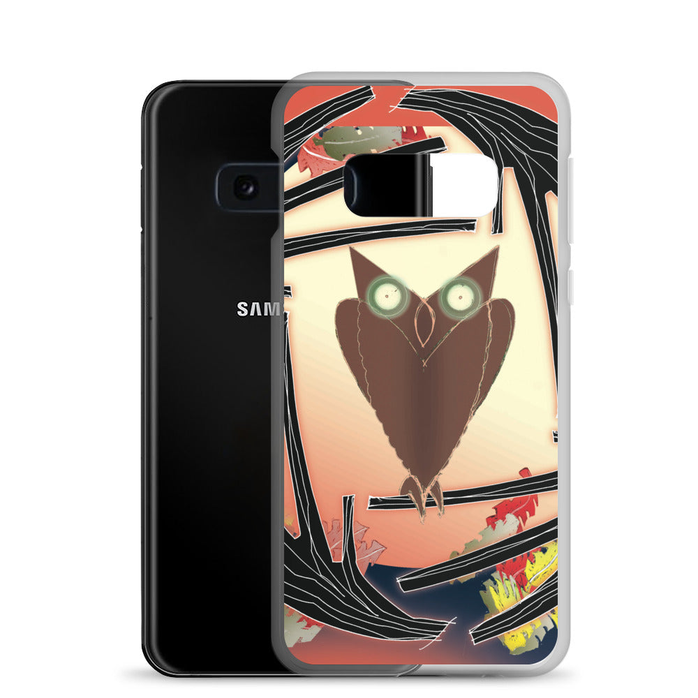 Samsung Case, Fall Owl
