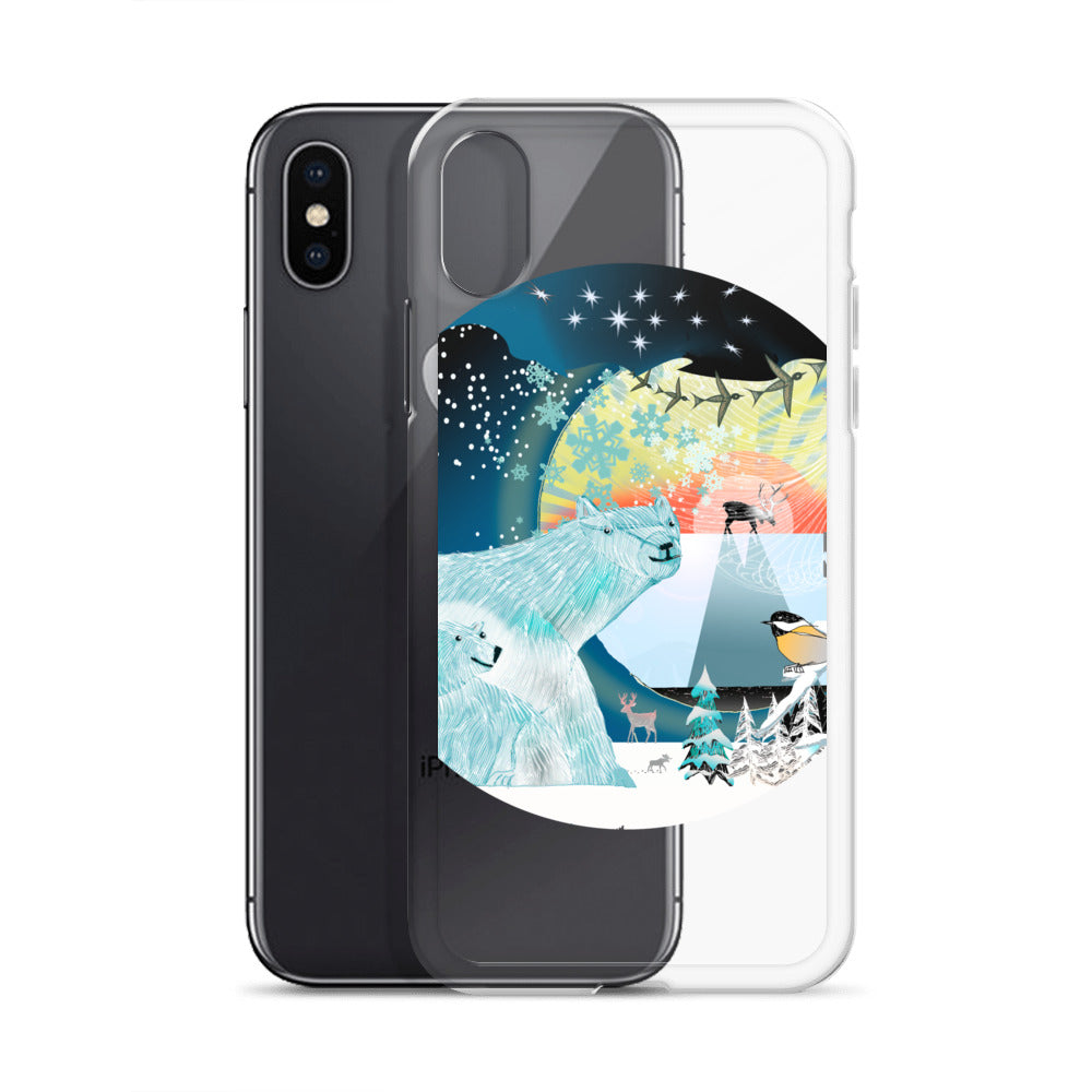 iPhone Case, Winter Polar Bear