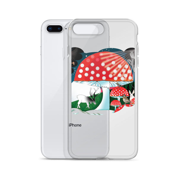 iPhone Case, Winter Mushroom