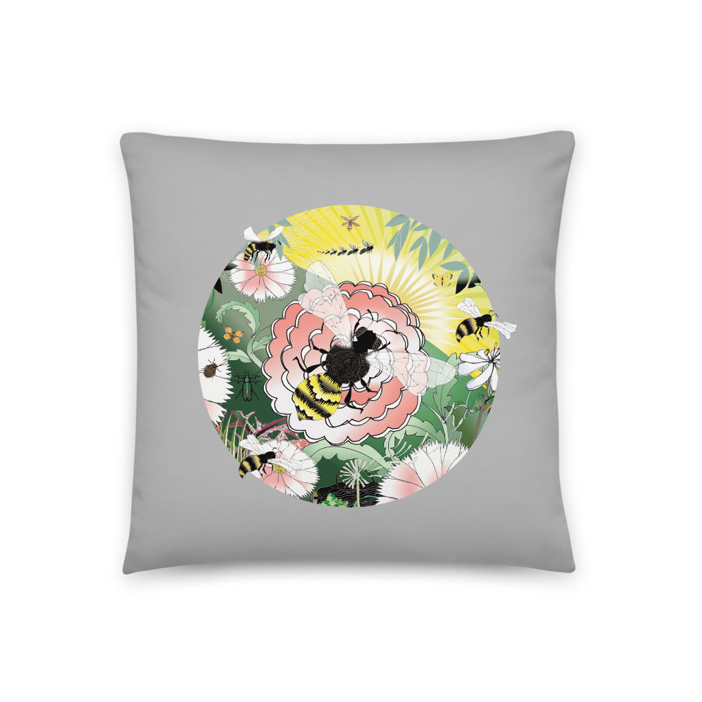 Basic Pillow, Spring Bee