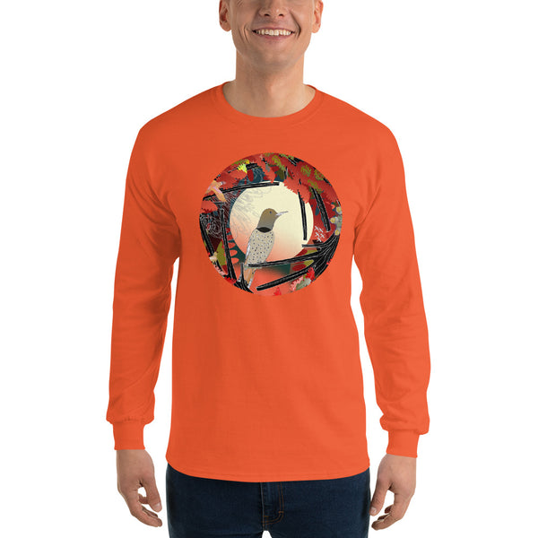 Long Sleeve T-Shirt, Autumn Northern Flicker