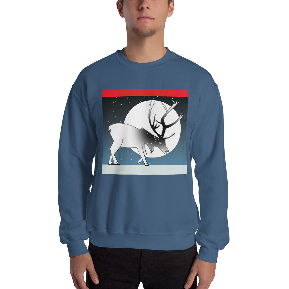 Sweatshirt, Winter Deer