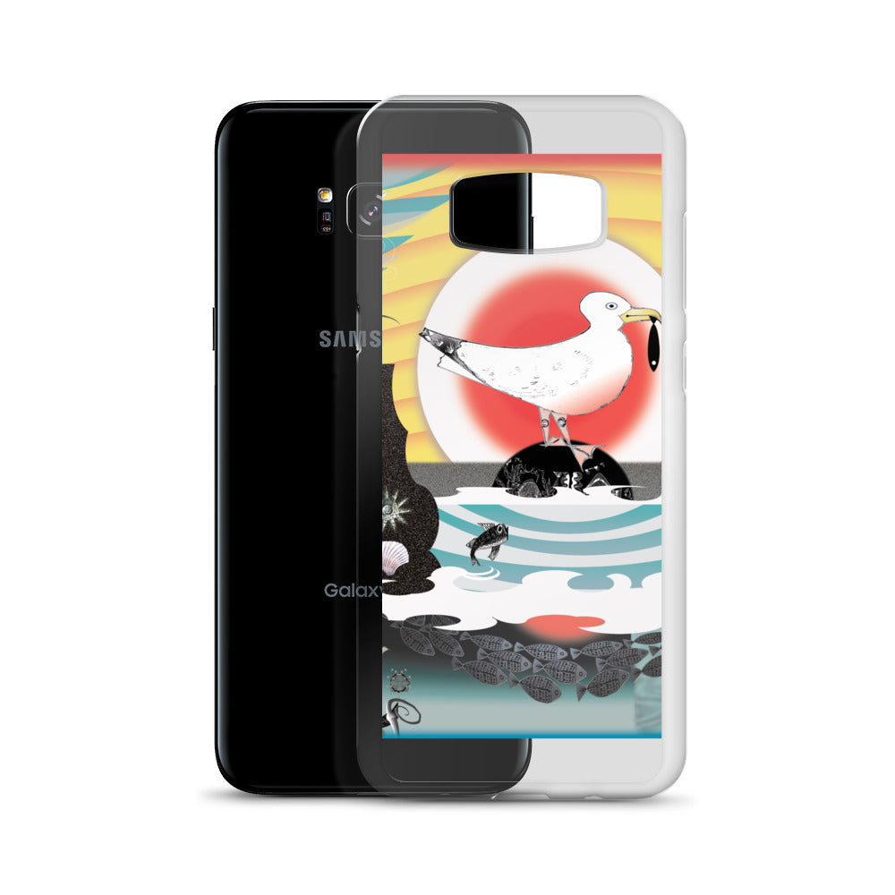 Samsung phone case, Summer Seagull