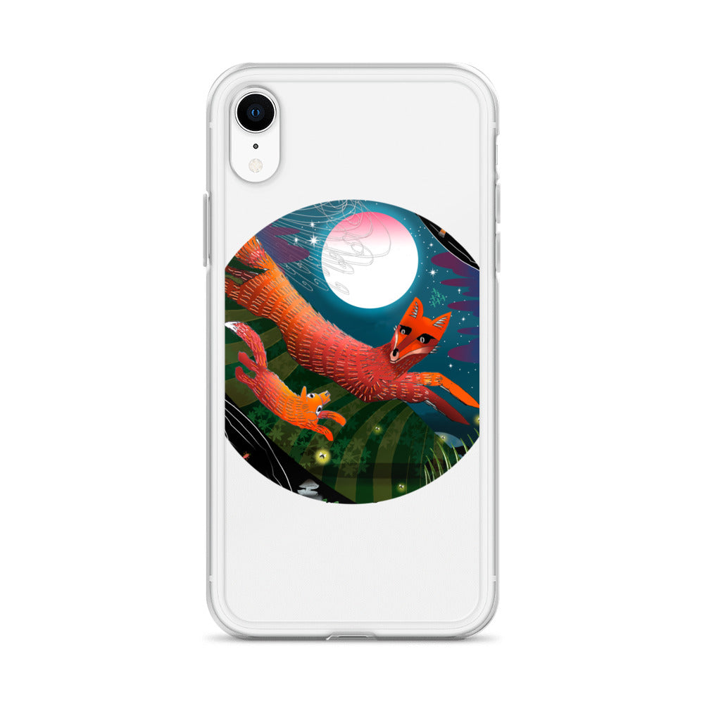 iPhone Case, Fall Fox