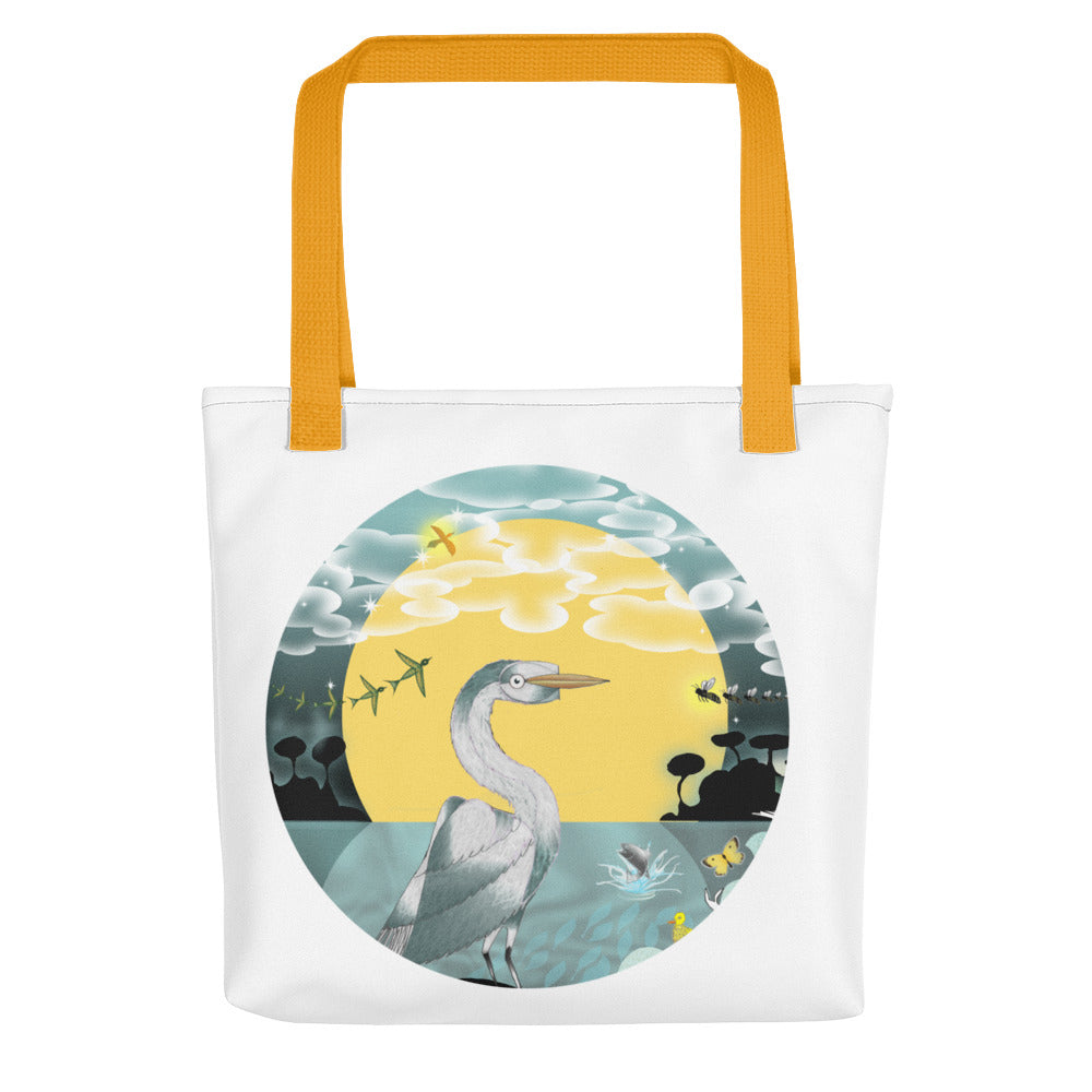 Tote bag, Summer Egret