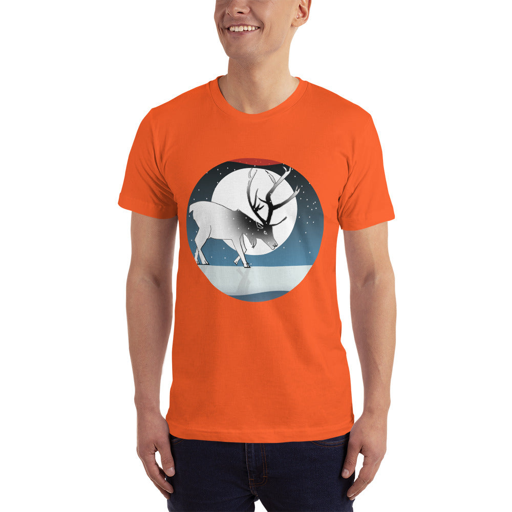 T-Shirt, Winter Deer
