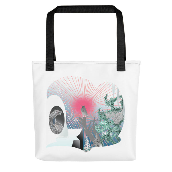 Tote bag, Winter scene