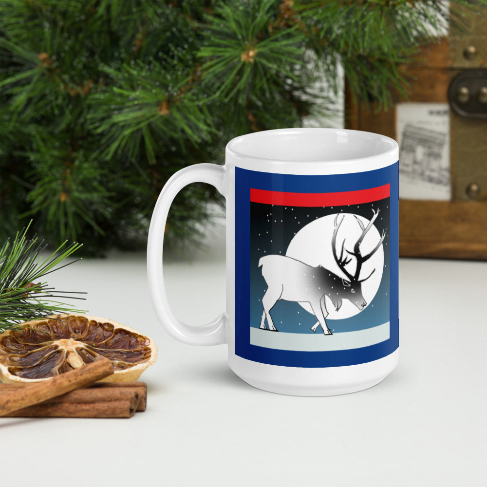 Mug, Winter Deer