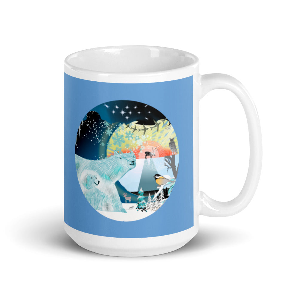 Mug, Winter Polar Bear