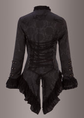 Black steampunk jacket