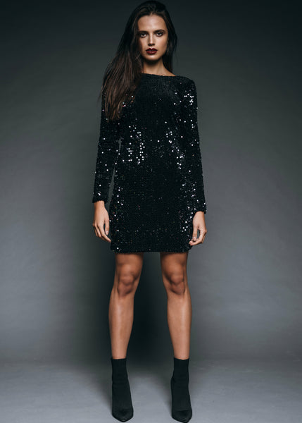 Sparkling cocktail dress
