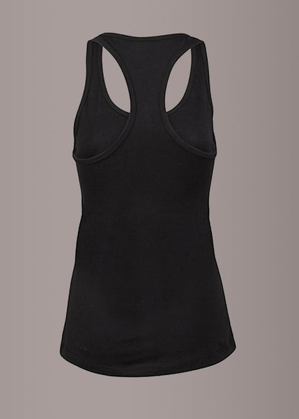 Womens black gothic tank top