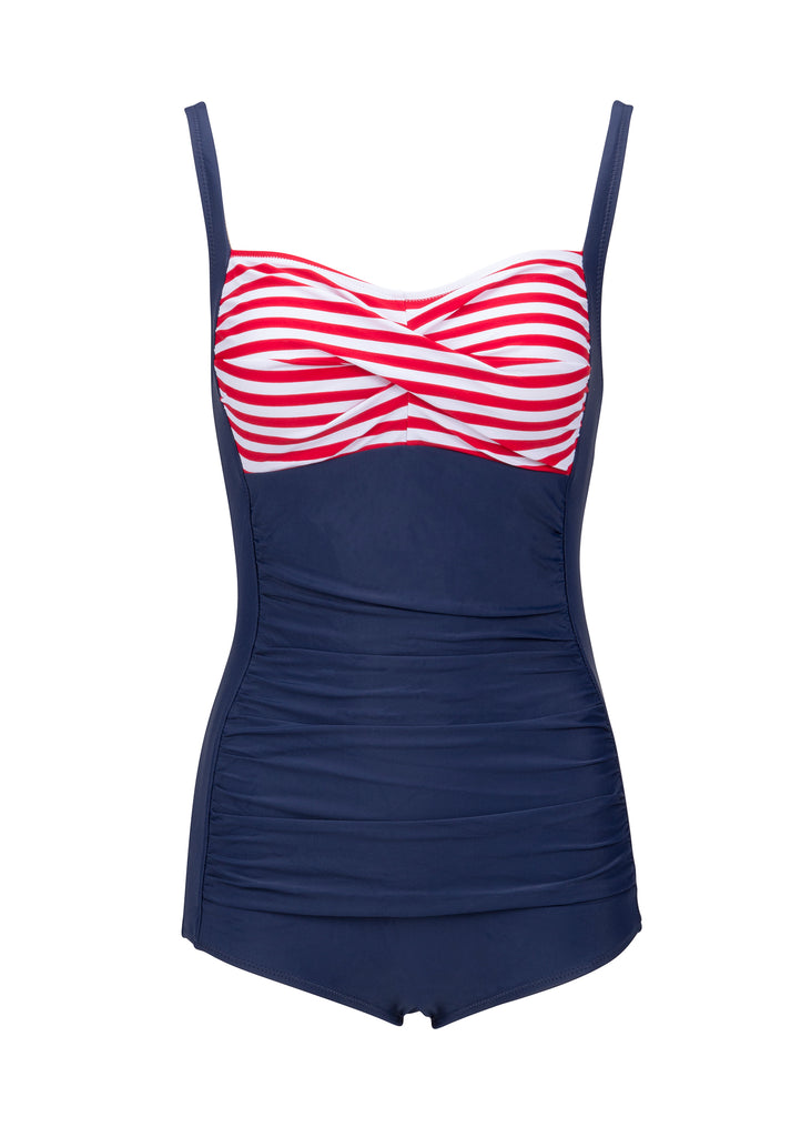 Sailor pin up bathing suit