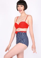 Do The Polka High Waist Retro Two-Piece Swimsuit