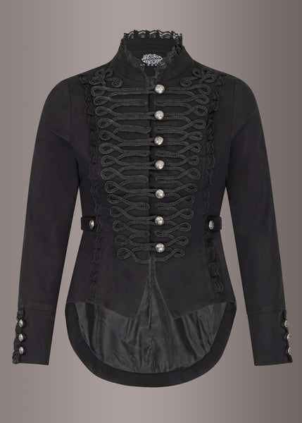 black military tail jacket