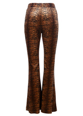 tiger print bell bottoms