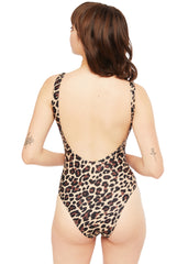 Animal print Damen Badeanzug