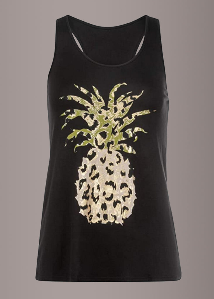 Ananas Design Damen Top