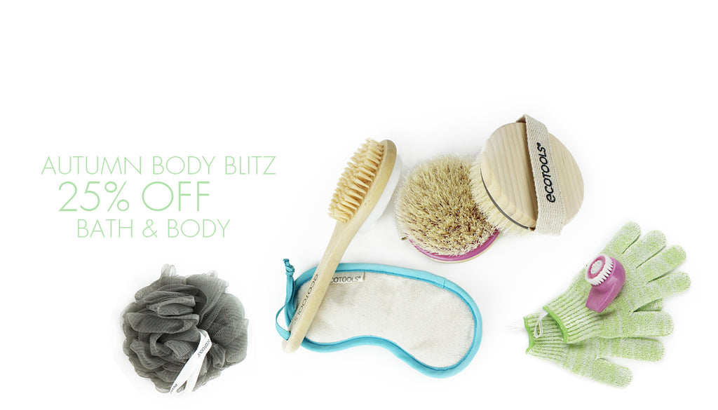 ecotools 25% off bath and body