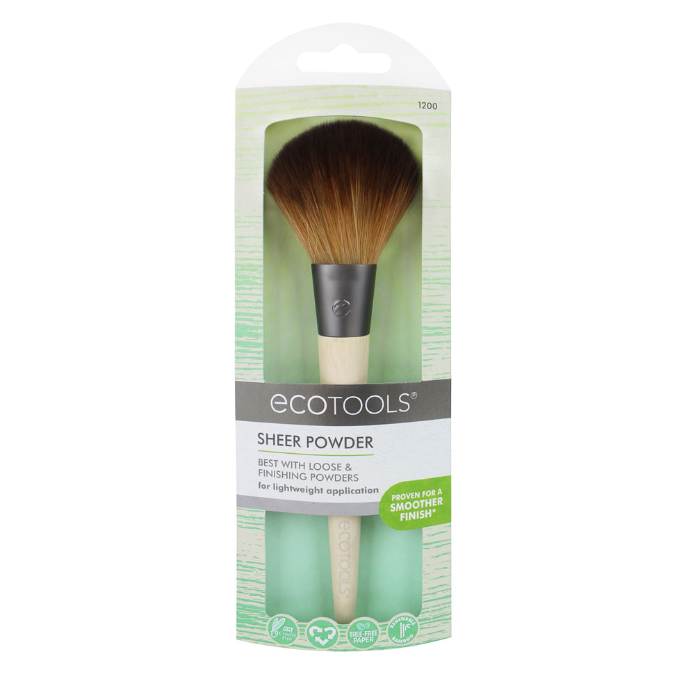 ecotools Sheer Powder makeup brush