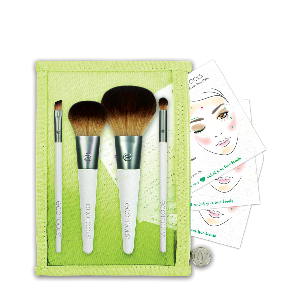 Ecotools On-The-Go Style 4pc Set