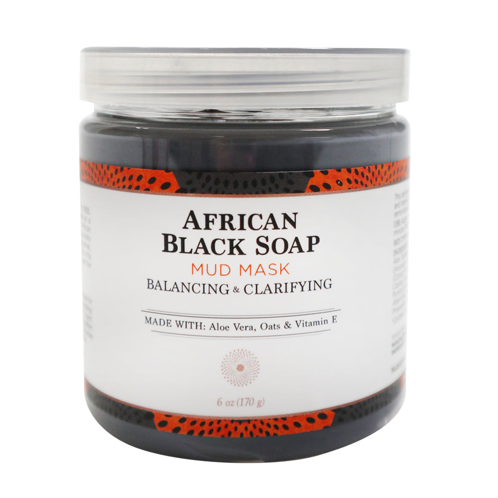 Nubian Heritage African black soap Mud Mask