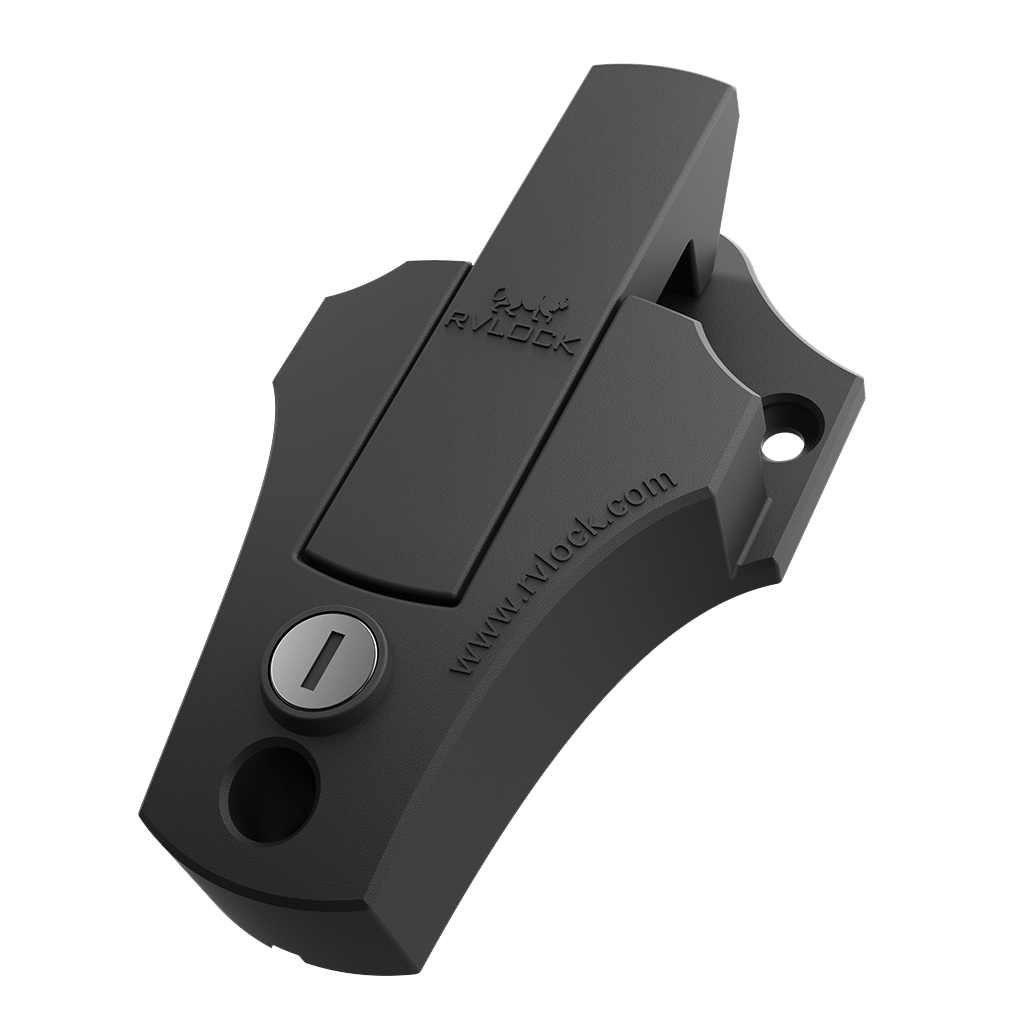 RVLock Hasp Bar Latch - Black