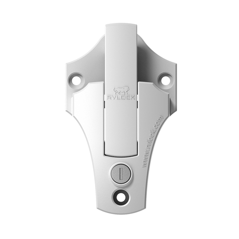 RVLock Hasp Bar Latch - White